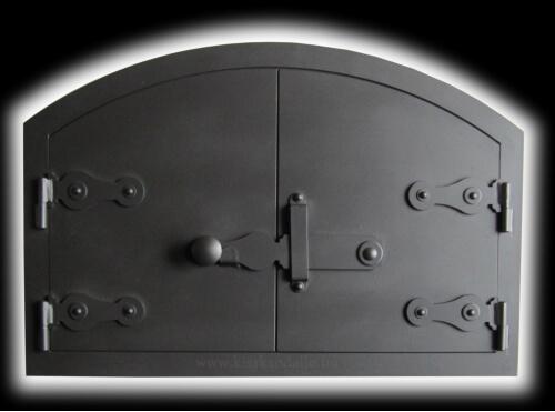 íves szöletes kemence ajtó